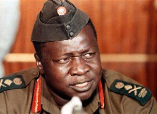 The late former Ugandan dictator Idi Amin