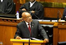 Mr Zuma is under pressure for his handling of the economy and over alleged corruption