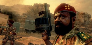Angolan rebel leader Jonas Savimbi, as depicted in Call of Duty: Black Ops II Photograph: Activision