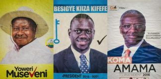 Kizza Besigye, 59, a veteran opposition leader. He has lost the last three elections