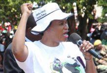 Zanu-PF Women's League secretary for finance Sarah Mahoka