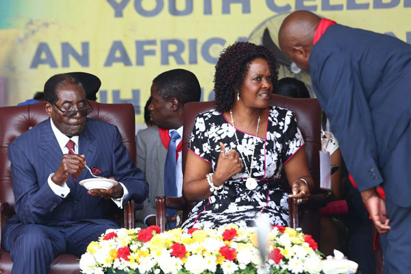 Wife of Zimbabwe President Mugabe Given Top Government