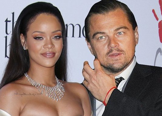 Rihanna and Leonardo DiCaprio seen 'kissing' on night out in Parisian nightclub (Photo by Matt Baron/BEI/Shutterstock)