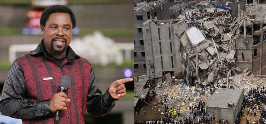 TB Joshua church collapse: Children sue over father's death