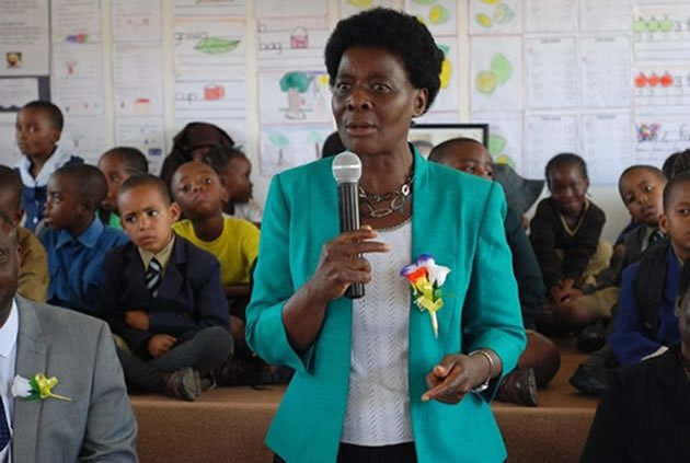 Permanent secretary in the Ministry of Primary and Secondary Education Dr Sylvia Utete-Masango