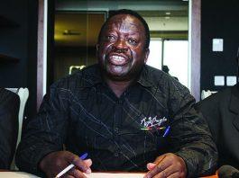 War Vets Secretary General Victor Matemadanda
