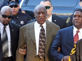 Disgraced actor/comedian Bill Cosby arrives at the Montgomery County Courthouse in Norristown, Pennsylvania on February 2, 2016, for a preliminary hearing on the 2005 sexual assault case.