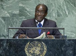 Robert Mugabe at the United Nations