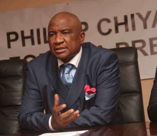 Flamboyant businessman Phillip Chiyangwa
