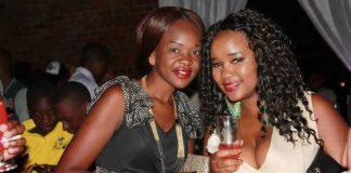 Lipsy Chitimbe (left) and Juwela