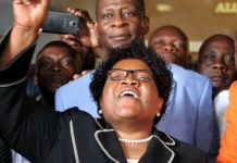 "Joice Mujuru was known as ""Spill Blood"" during the campaign against British rule"