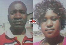 Munyaradzi Kusangaya and Sandra Masuka