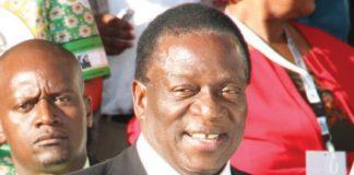 Vice President Emmerson Mnangagwa