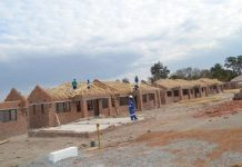 File picture of houses under construction