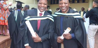 The story of twin brothers Gift and Golden Nyamapfene, who graduated Cum Laude this month, is an inspiration to their fellow students at Durban University of Technology