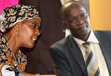 Grace Mugabe and Jonathan Moyo