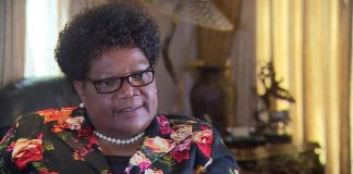 Joice Mujuru is now president of the Zimbabwe People First party