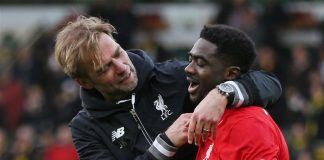 Liverpool manager Jurgen Klopp has taken time out to praise the club's veteran defender Kolo Toure insisting that he has a big future at Anfield