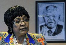 Nelson Mandela's former wife, Winnie Mandela