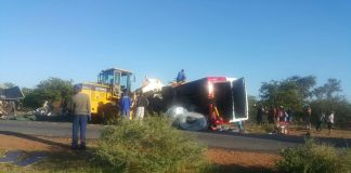 According to the police, 10 people died on the spot while two others died on admission to Beitbridge District Hospital. Of the victims, nine were in the bus while three were in the truck.
