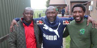 Memory Mucherahowa, Japhet Mparutsa and his son Earnest