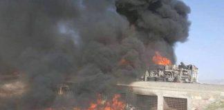Afghanistan fuel tanker crash kills 73 in Ghazni province