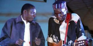 "Oliver ""Tuku"" Mtukudzi and Alick Macheso"