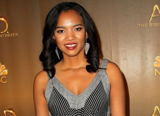 """Chipo Chung at a premiere for """"A.D. The Bible Continues""""; Photo Courtesy of NBC."""