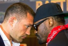 Dereck Chisora vs Kubrat Pulev weigh-in descends into drama