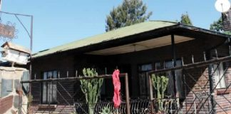 The Pelandaba house in Bulawayo where Emmanuel Mapetero hanged himself