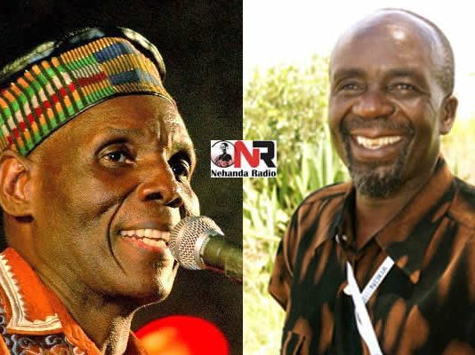 Oliver Mtukudzi and Hosiah Chipanga