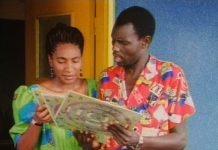 "Oliver ""Tuku"" Mtukudzi (right) in the film Jit: Photo credit Michael Raeburn"