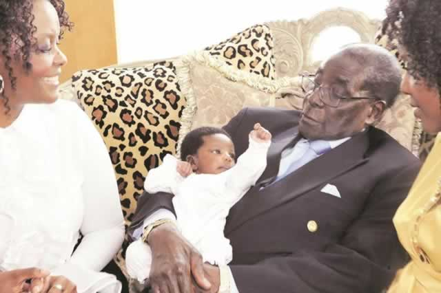 Zimbabweans Urge Mugabe To Step Down To Look After Grandson