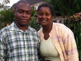 Raymond Oganio and wife Chipo