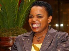 South African gospel diva Rebecca Malope
