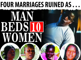 Man beds 10 women.... ruins four marriages