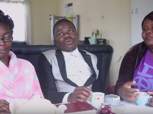 """Bustop TV comprises Prosper """"The Comic Pastor"""" Ngomashi, Magi and Gonyeti and the trio has made a name on social networks through their hilarious skits."""