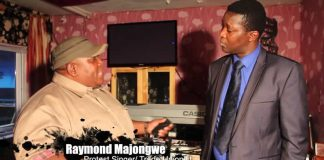 Raymond Majongwe during an appearance on Nehanda TV