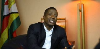 Former Zanu-PF activist William Mutumanje, also known as Acie Lumumba