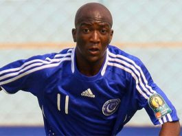 Zimbabwe international Edward Sadomba
