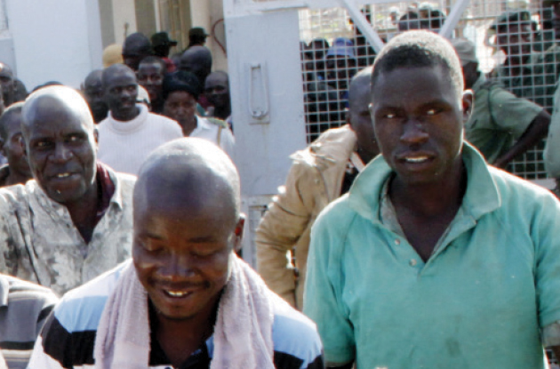 Inmates at Khami Prison in this file photo