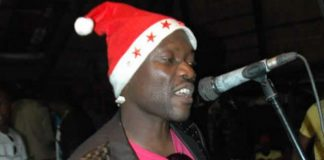 Popular chanter and dancer Jonasi Kasamba