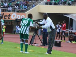 CAPS United coach Lloyd Chitembwe