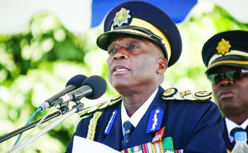 Police chief Augustine Chihuri