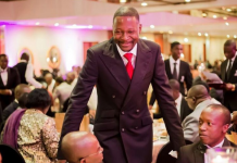 Prophet Emmanuel Makandiwa at the launch of his brand