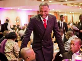 Prophet Emmanuel Makandiwa at the launch of his brand