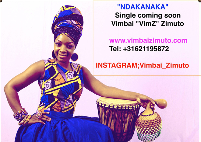 """Singer Vimbai Zimuto (Vee Kay) advertised her song """"Ndakanaka"""" on Facebook on the 8th of April this year"""