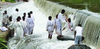 6 children die during Apostolic baptism