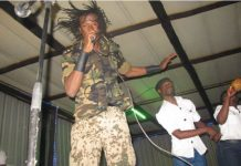 Jah Prayzah on stage