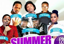 Artistes ready for UK Summer Splash